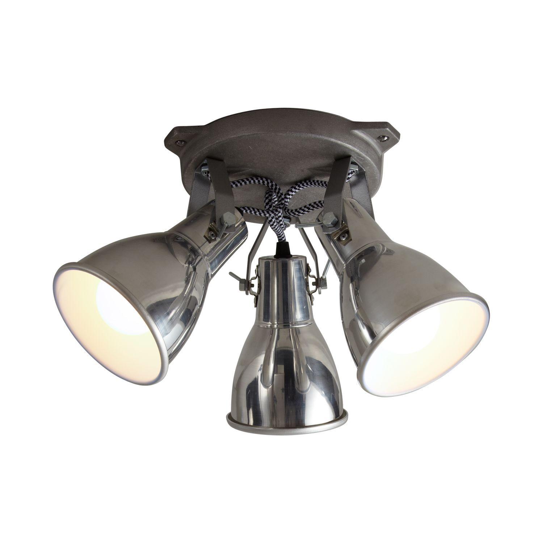Plafonnier de style industriel / en aluminium / à LED ...