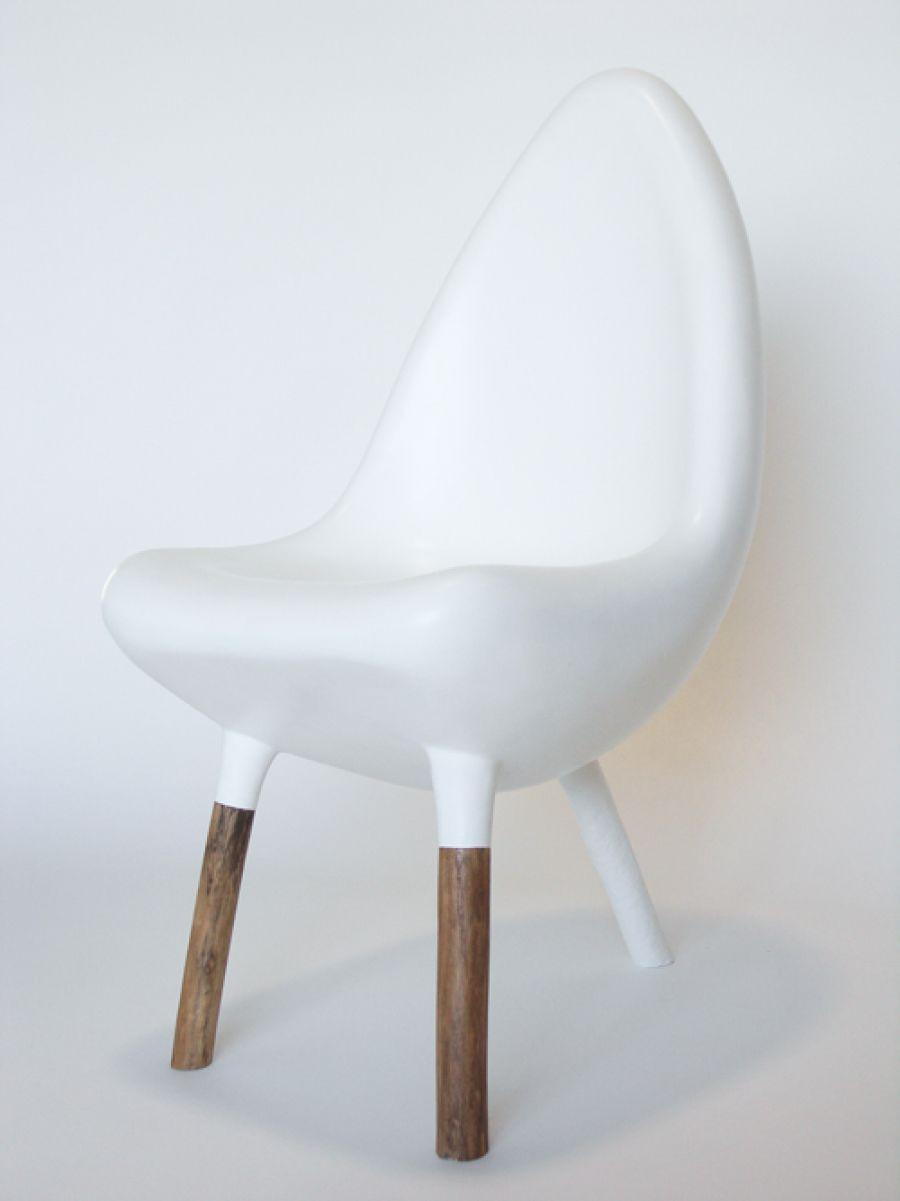 Verre Chaise De Bois Original En Design Jardin Fibre 29HEDI