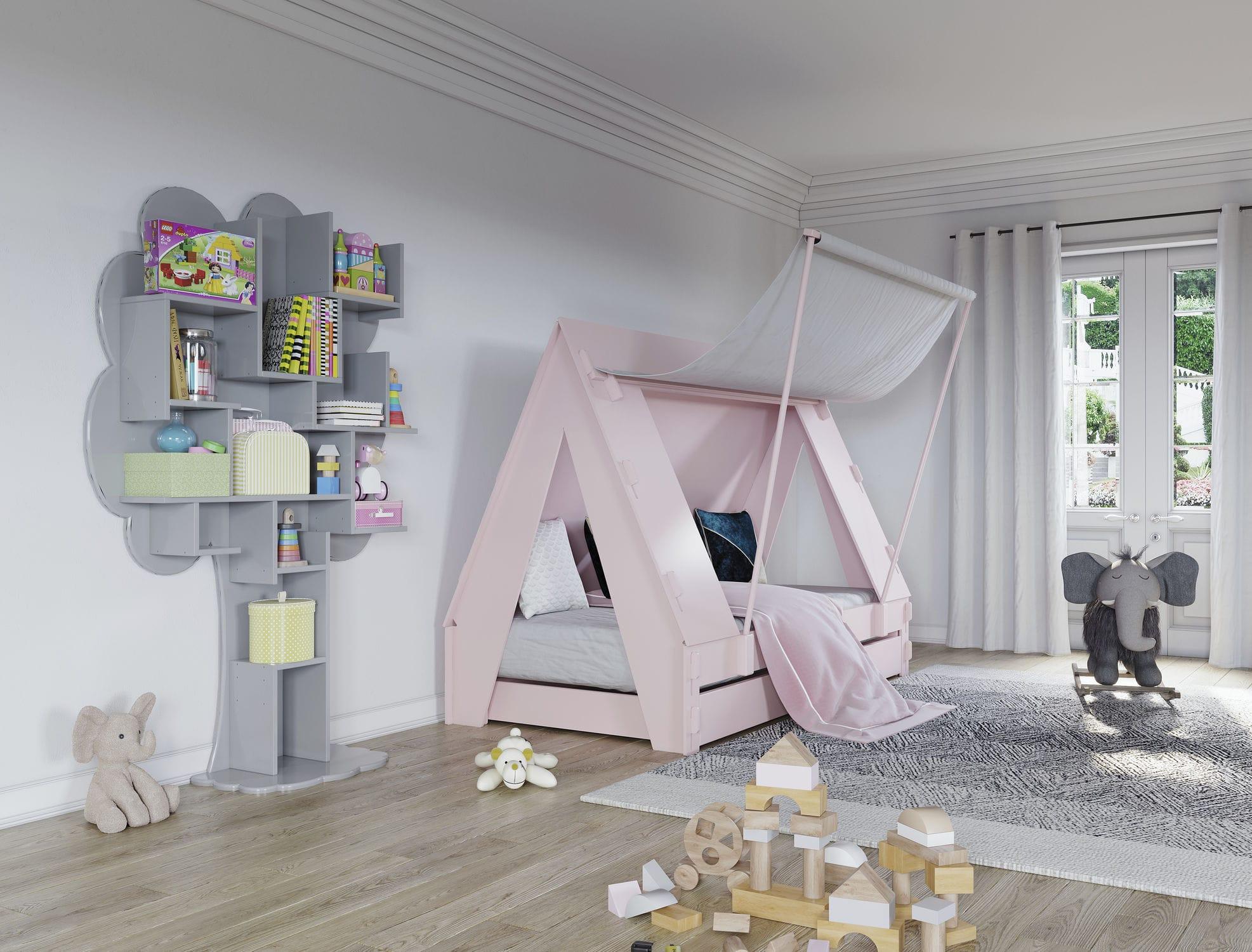 Chambre d\'enfant mixte - TENTE - MATHY BY BOLS