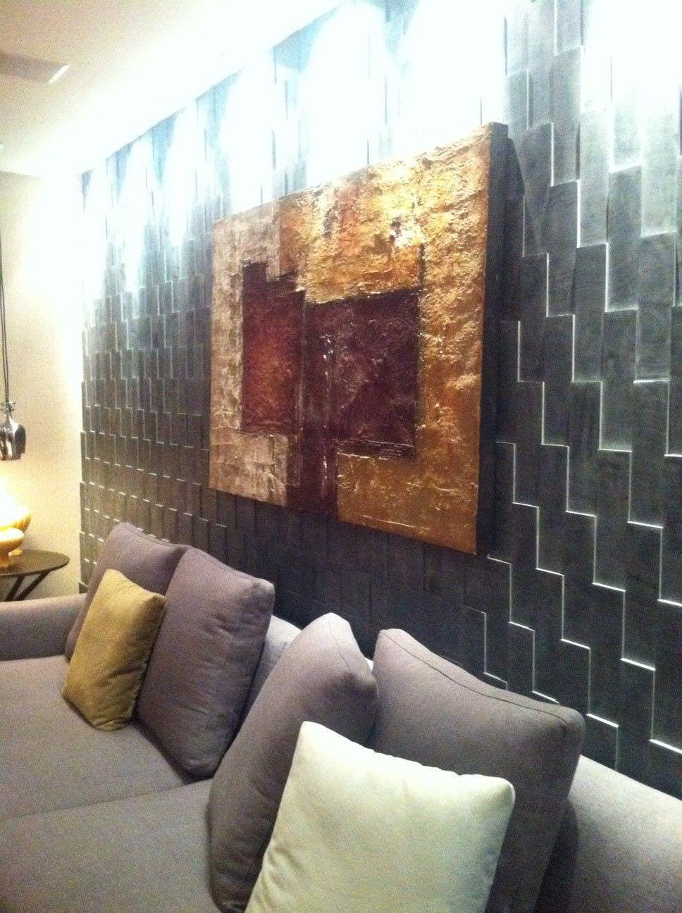Mur Parement Interieur Ardoise parement en ardoise / intérieur - black slate rivestimento