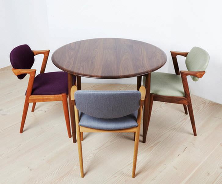 Universe Table à Manger Design Scandinave En Chêne En Noyer En Teck By Paere Dansk Archiexpo