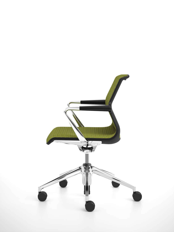 nouveau style 80b1b 475cd Chaise de bureau contemporaine / à roulettes / piètement ...