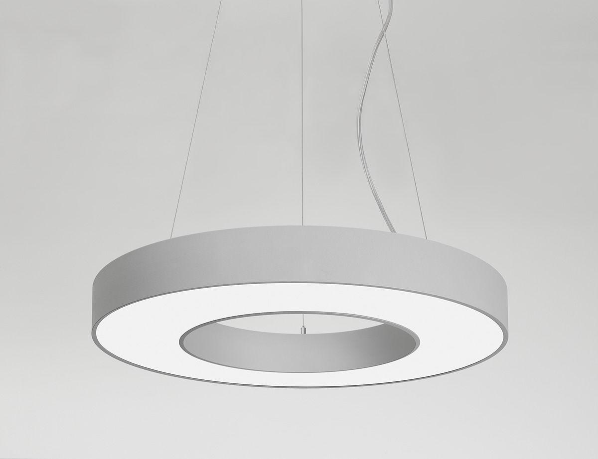 Luminaire À Aluminium Rond Led Suspendu En 3jARLq54