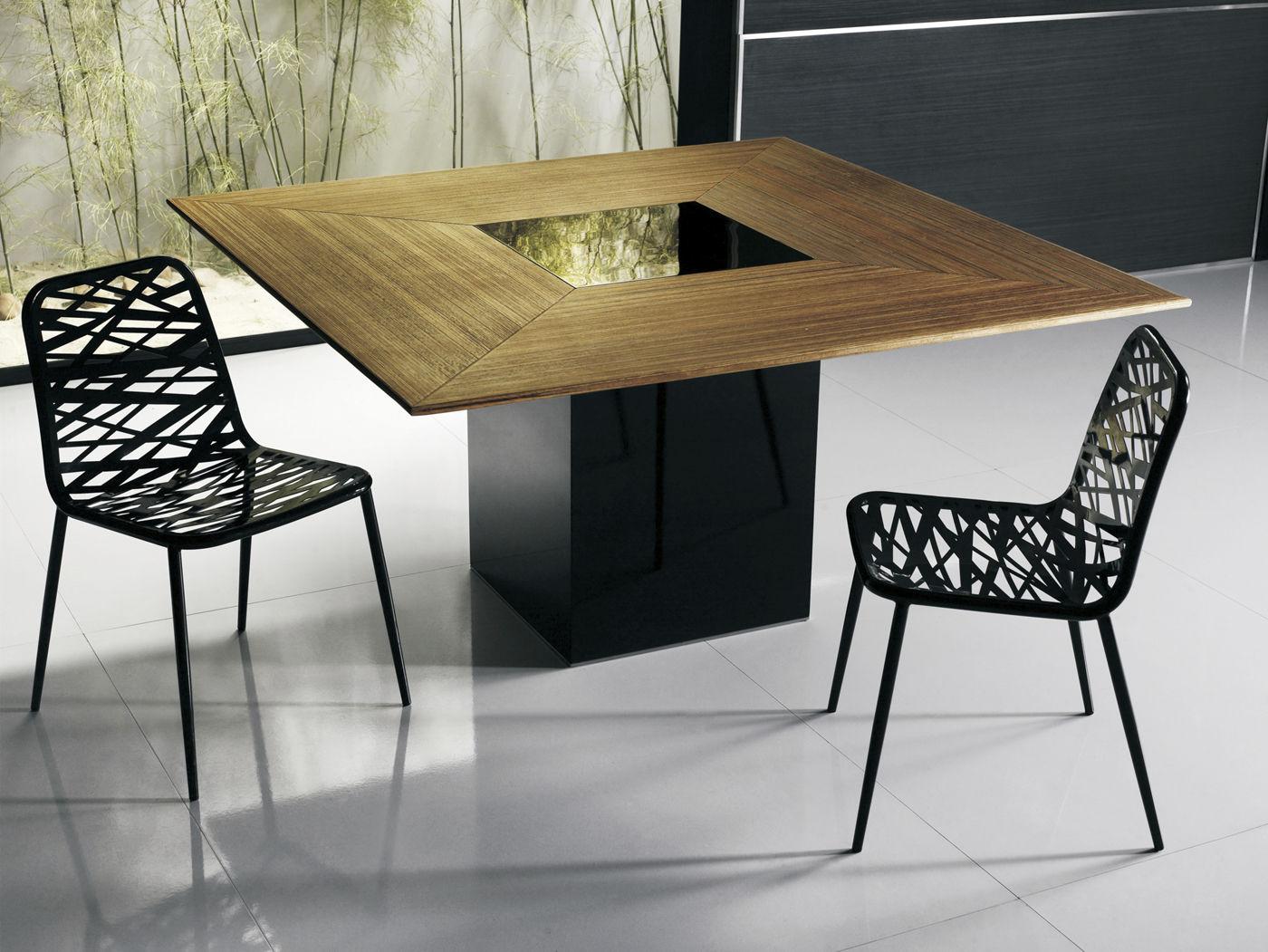 Table A Manger Originale table à manger contemporaine / en bois / carrée - fitzroy