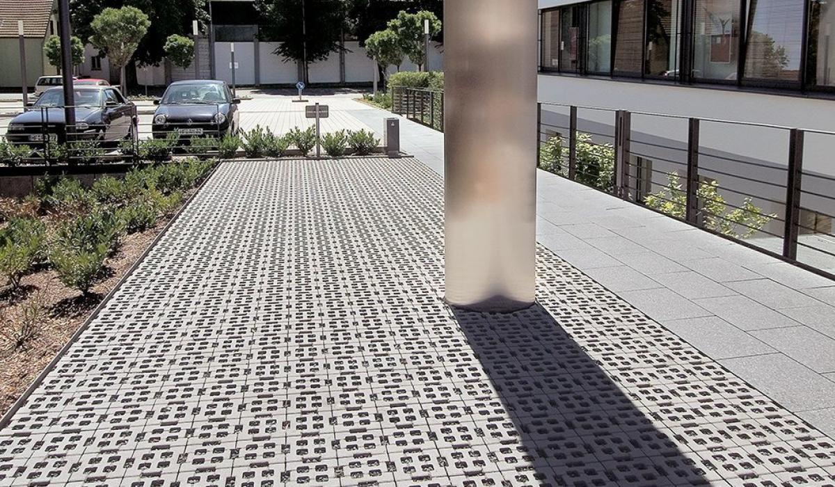 Dalle Beton Parking Herbe dalle gazon en béton - greenston combi - urbastyle