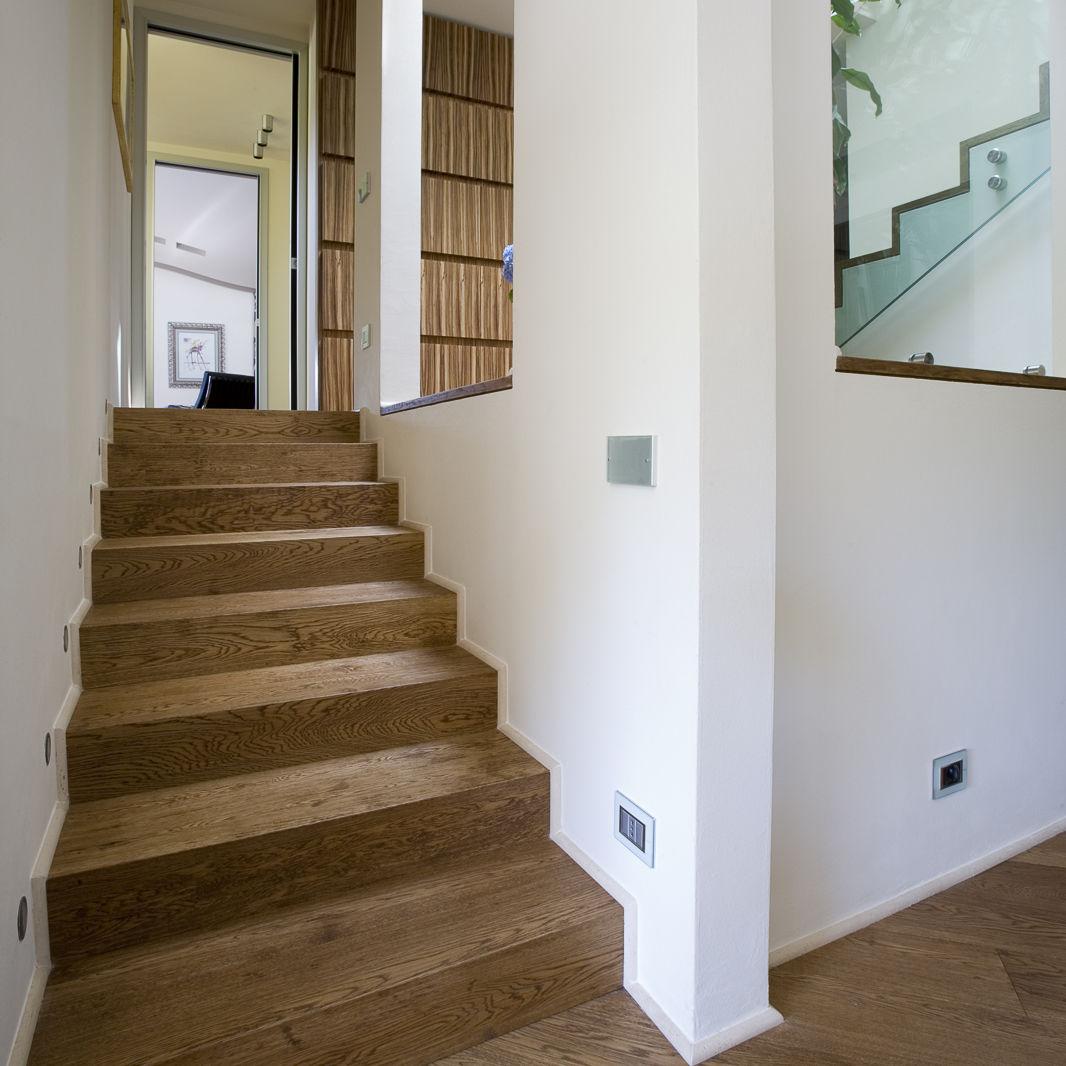 Escalier Droit Quercia Old Parchettificio Toscano Srl Structure En Bois Marche En Bois Avec Contremarche