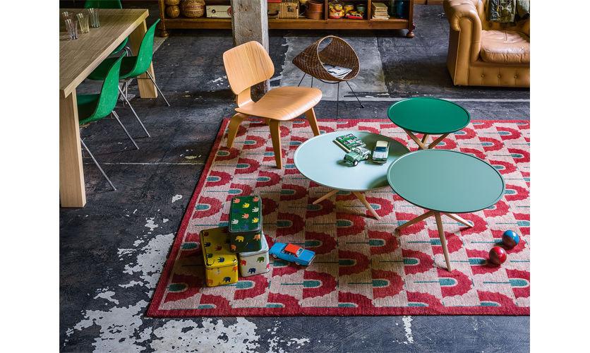 contemporaine by en basse Table chêne PICO ronde q54L3AjR