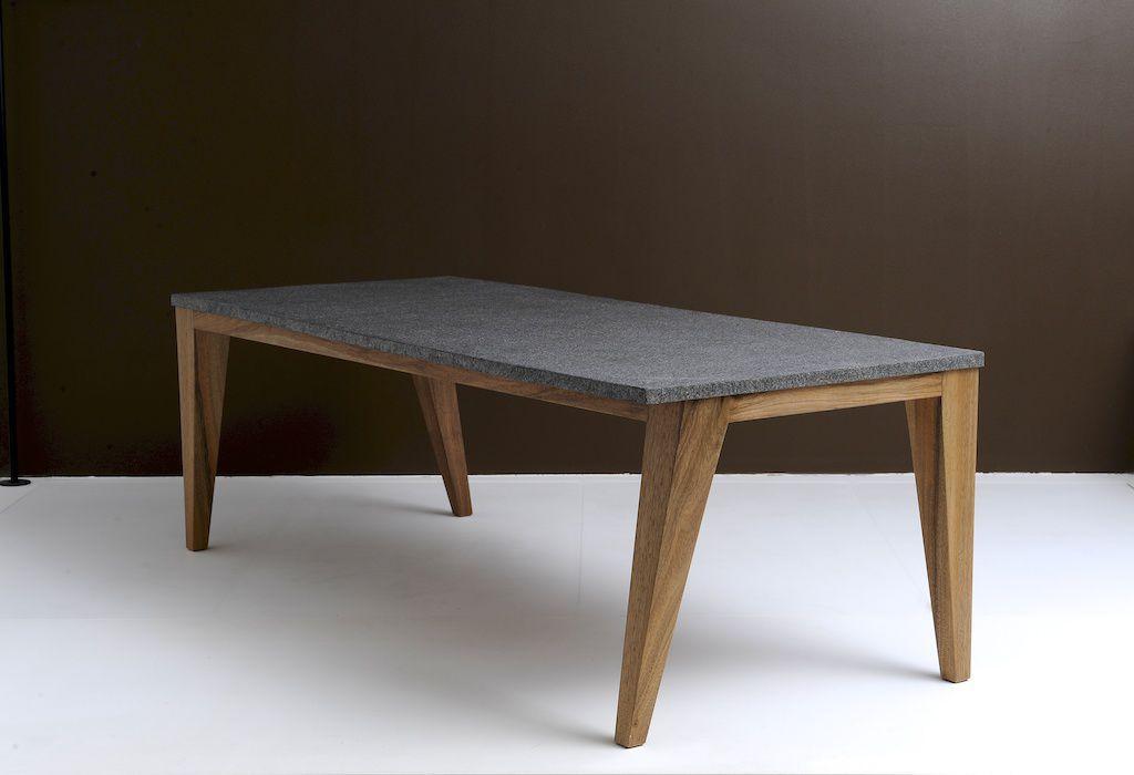 Table Basse Contemporaine En Bois En Pierre Naturelle