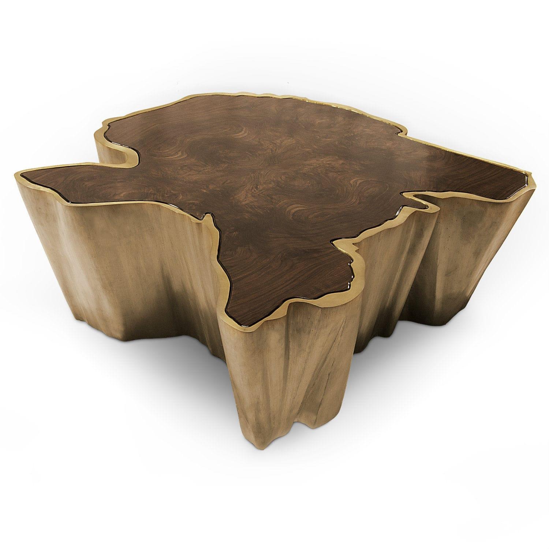 Noyer Basse ForcesArchiexpo Laiton Table Design En By Bois Contemporaine Brabbu Plaqué Sequoia y6IbfgvY7
