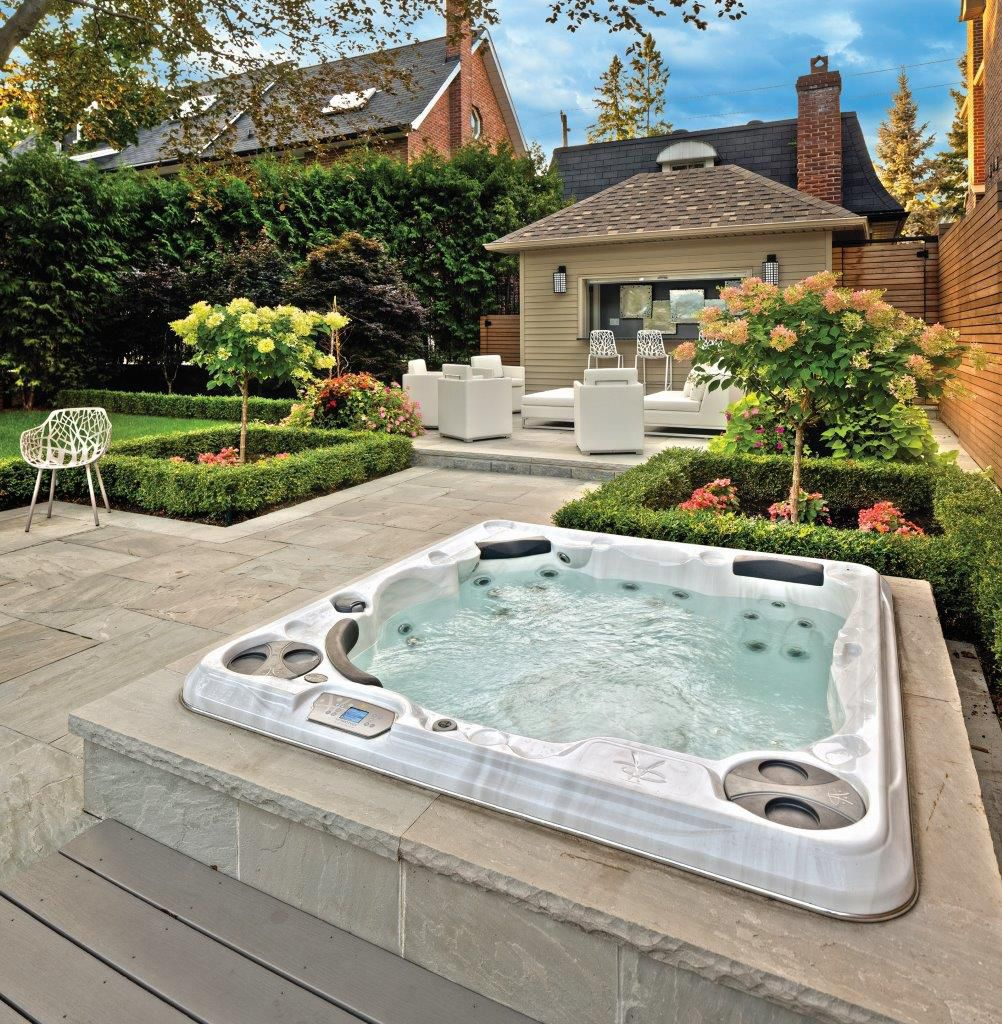 Avis Spa De Nage Clair Azur spa encastrable / hors-sol / carré / 5 places - h570 - clairazur