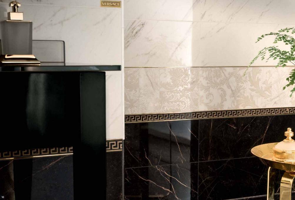 Carrelage D Interieur Marble Versace Ceramics Mural De Sol En Gres Cerame