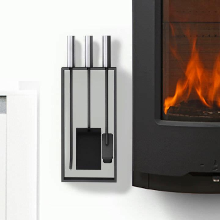 discount fresh styles latest fashion Serviteur de cheminée mural / en acier - TETRA - RAIS