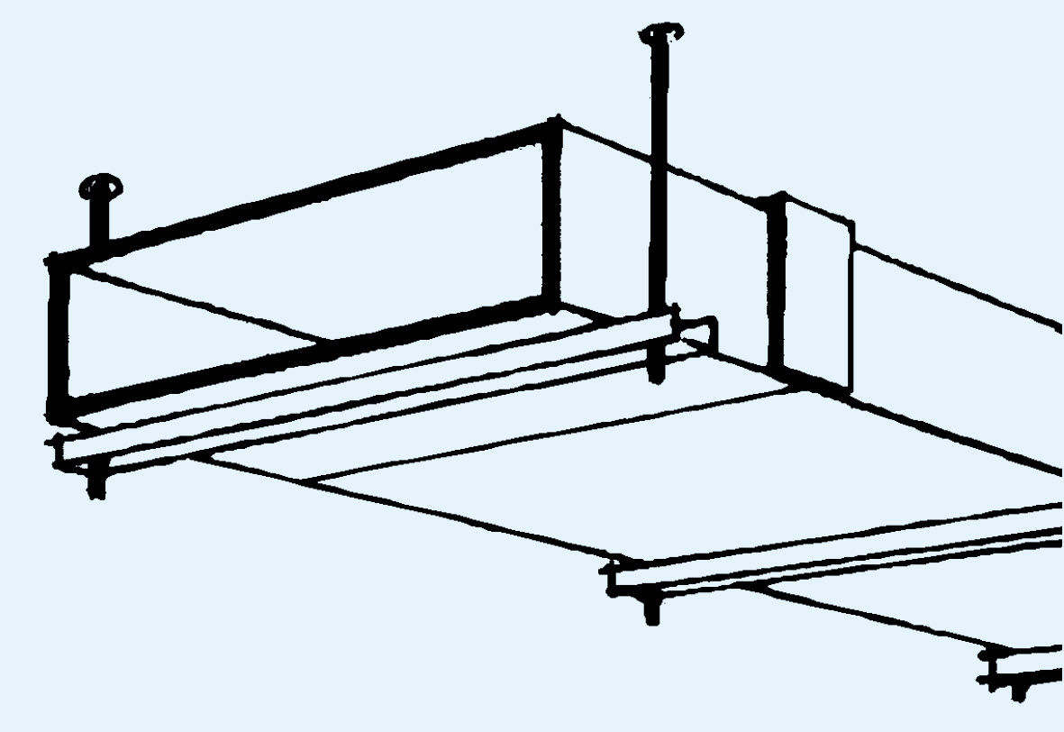 Goulotte Pour Plafond goulotte de câblage en plâtre / de plafond / professionnelle
