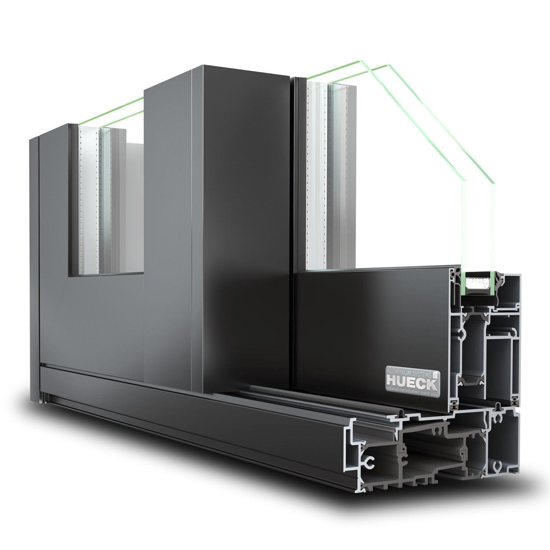 système coulissant en aluminium  volato m  hueck system