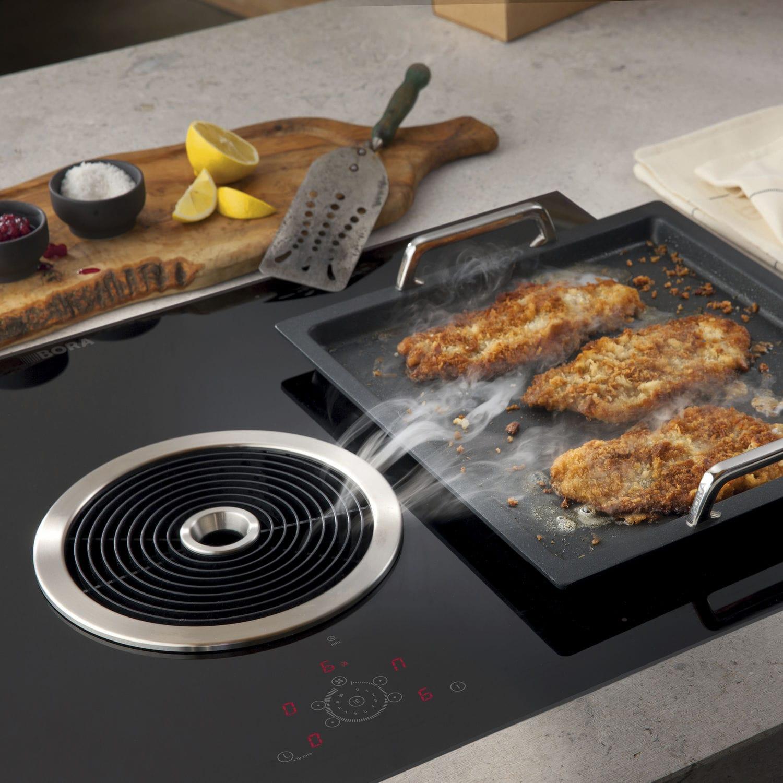 Bora Plaque De Cuisson hotte de cuisine intégrée au plan de travail - bfiu - bora