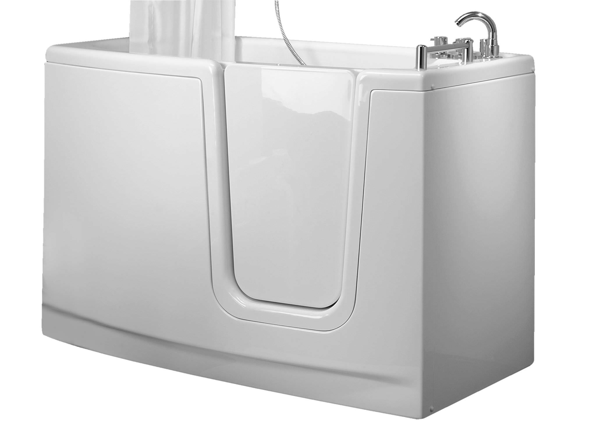 Baignoire Fibre De Pierre baignoire à poser / en fibre de verre / à porte / pour