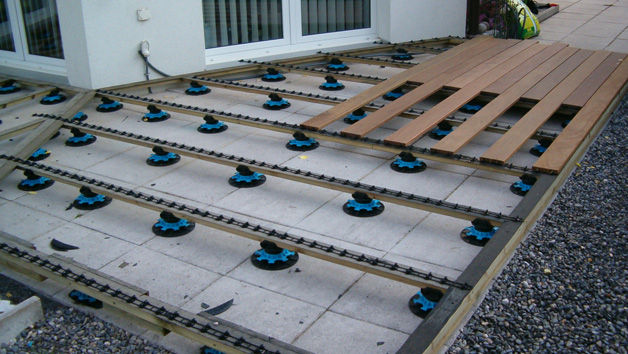 Plancher Terrasse Clipsable