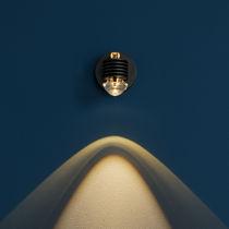 Applique murale contemporaine / en laiton / en verre / à LED