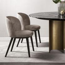 Chaise contemporaine / tapissée / ergonomique / en tissu