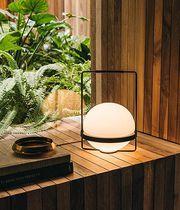 Lampe de table / contemporaine / en aluminium / en verre soufflé