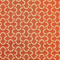 Tissu d'ameublement / à motif géométrique / polyester FR / en coton