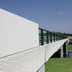 corniche pour construction de pont