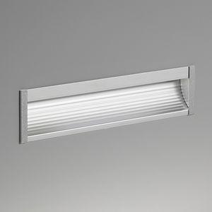 luminaire encastrable au mur / à LED / linéaire / d'extérieur