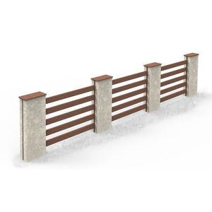 clôture à barreaux