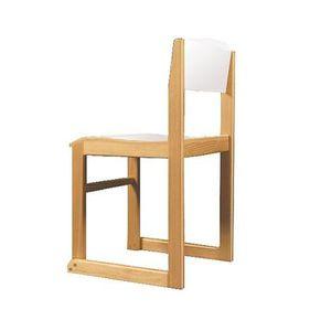 chaise visiteur contemporaine / empilable / pour enfant / tapissée