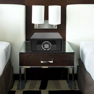 coffre-fort électronique / à poser / pour chambre d'hôtel