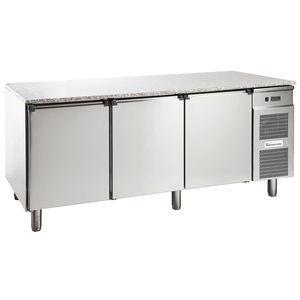 table de préparation en acier inoxydable / réfrigérée
