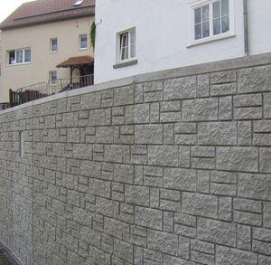 matrice de coffrage pour mur de clôture