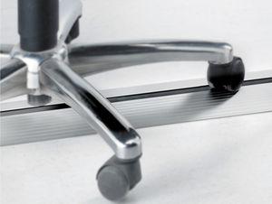 protège-câble en aluminium anodisé / professionnel / pour bureau