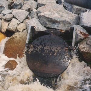 vanne de contrôle des eaux