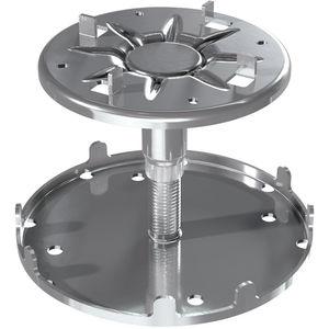 support pour plancher technique en acier galvanisé