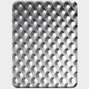tôle métallique perforée / décorative / en inox / pour agencement intérieur