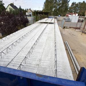 panneau de construction en béton