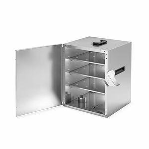 armoire chauffante à roulettes