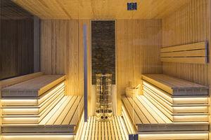 sauna finlandais / résidentiel / en bois / d'intérieur