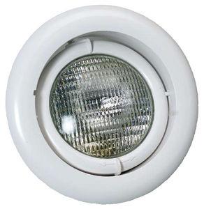 luminaire encastré / fluocompact / rond / de piscine