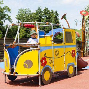 véhicule pour aire de jeux