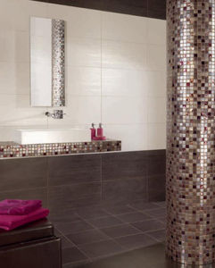 mosaïque d'intérieur / de salle de bain / murale / en céramique