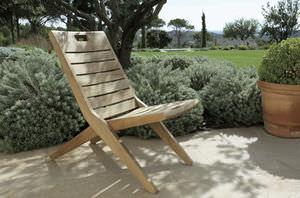 chaise de jardin classique