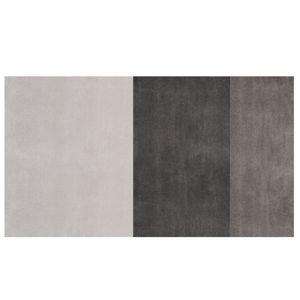 tapis contemporain / à rayures / en laine / en viscose