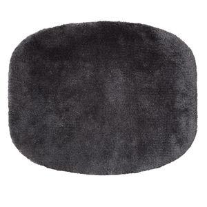 tapis de style / géométrique / uni / en laine