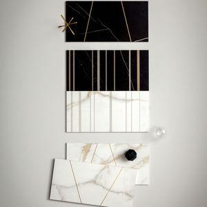carrelages d'intérieur / muraux / en grès cérame / 30x60 cm