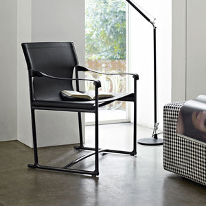 chaise contemporaine / pliante / avec accoudoirs / luge