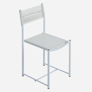 chaise contemporaine / en acier / en PVC