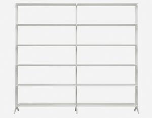 étagère modulable / contemporaine / en aluminium / en MDF