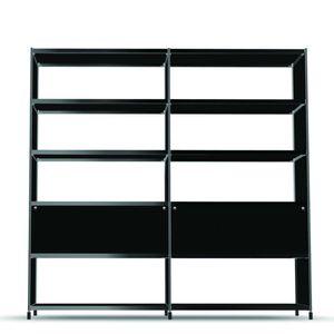 étagère modulable / haute / contemporaine / en aluminium